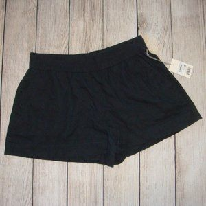A New Day Linen Blend Pull On Shorts L